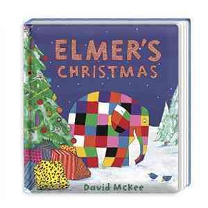 Elmer\'s-Christmas:-Board-Book
