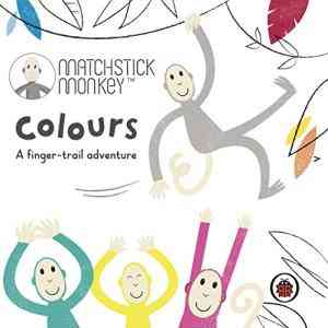 Matchstick-Monkey:-Colours:-A-finger-trail-adventure