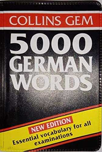 Buy 5000 German Words (Collins Gems) by Barbara Christie online in india - Bookchor | 9780004593227