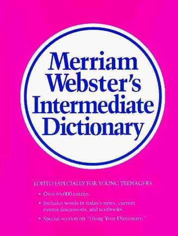 Buy Merriam-Webster\'s Intermediate Dictionary by Merriam Websters Staff online in india - Bookchor | 9780877794790