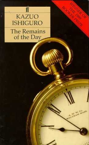 Buy The Remains of the Day by Kazuo Ishiguro online in india - Bookchor   9780571153107