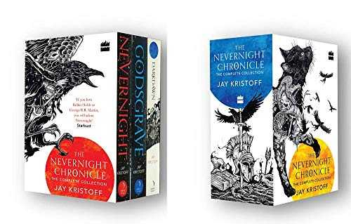 Buy The Nevernight Chronicles : The Complete Collection BOX SET by Jay Kristoff-Paperback by Jay Kristoff online in india - Bookchor   9780008404666
