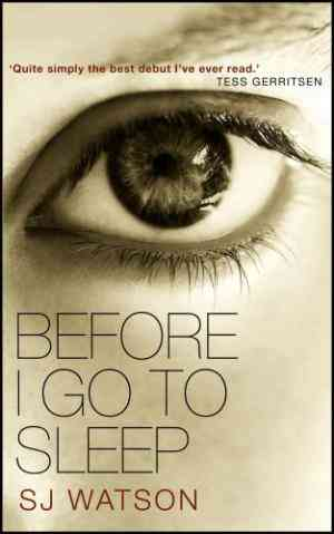 Buy Before I Go to Sleep by S J Watson online in india - Bookchor | 9780857520814