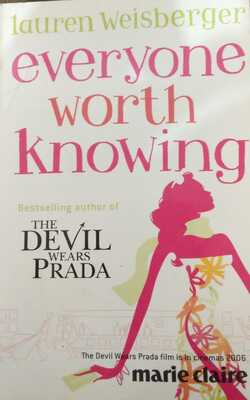 Buy Everyone Worth Knowing by Lauren Weisberger online in india - Bookchor | 9780007781430