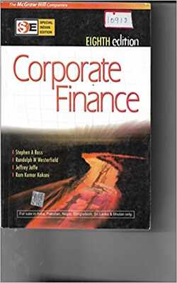 Buy Corporate Finance, 8th Edition by Stephen Ross online in india - Bookchor | 9780070091245