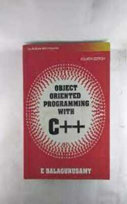 Buy Object Oriented Programming with C++ by E Balagurusamy online in india - Bookchor   9780070669079