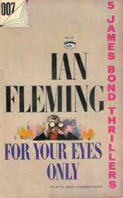 Buy For Your Eyes Only by Ian Fleming-Paperback by Ian Fleming online in india - Bookchor   9780141028255