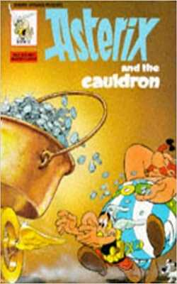 Buy Asterix and the cauldron by Goscinny and Uderzo online in india - Bookchor   9780340227114