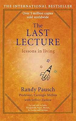 Buy LAST LECTURE by Randy Pausch online in india - Bookchor   9780340977736