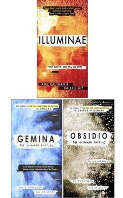 Buy Illuminae, Gemina and Obsidio - the Illuminae files 3 books set PAPERBACK  by Jay Kristoff online in india - Bookchor | 9781310010045