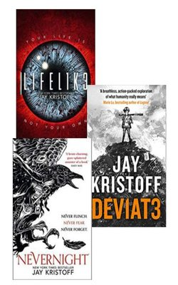 Buy LIFEL1K3 (LIFELIKE), DEV1AT3 (DEVIATE), Nevernight (The Nevernight Chronicle, Book 1) Set of 3 books by Jay Kristoff Paperback by Jay Kristoff online in india - Bookchor | 9781310010047