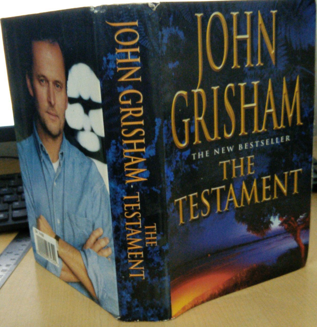 Buy THE TESTAMENT BY JOHN GRISHAM-Hardcover by John Grisham online in india - Bookchor | 9781310390040