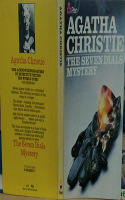Buy The Seven Dials Mystery by Agatha Christie-Paperback by Agatha Christie online in india - Bookchor | 9781310390873