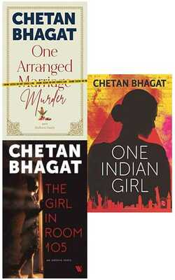Buy One Indian Girl/The Girl In Room 105/One Arranged Marriage Murder Set of 3 Books by Chetan Bhagat-Paperback by Chetan Bhagat online in india - Bookchor   9781310391627