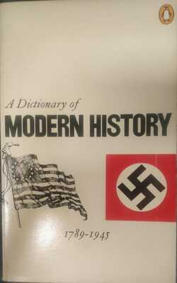 A-Dictionary-Of-Modern-History-1789---1945-by-A.-W.-Palmer-Paperback