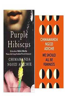 We-should-all-be-feminist/Purple-Hibiscus-Pack-of-2-Combo
