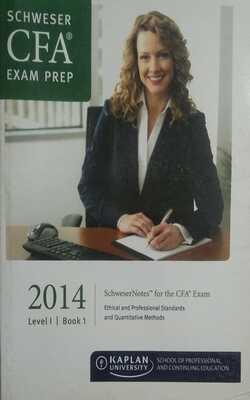 Schweser-Notes-Package---CFA-Level-1---2014