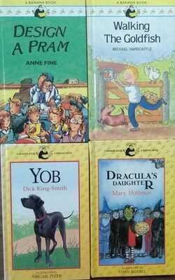 Banana-Set-of-4-Books(Age-4-7-Years)