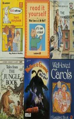 Ladybird-Set-of-6-Books(Age-4-6-Years)