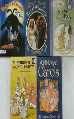Ladybird-Set-of-5-Books(Age-4-6-Years)