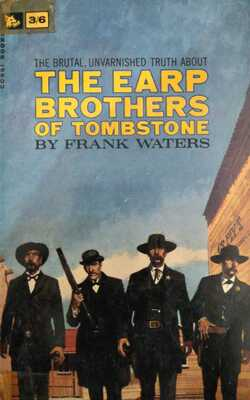 The-Earp-Brothers-of-Tombstone-by-Frank-Waters-Paperback