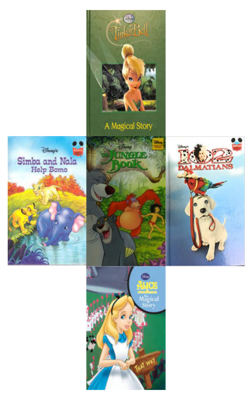 Buy Disney Collection of 5 Books by VARIOUS online in india - Bookchor | 9781310394526