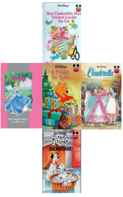 Buy Walt Disney Collection of 5 Books by VARIOUS online in india - Bookchor | 9781310394530