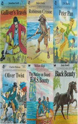 Illustrated-Classic-Book-Set-of-6-Books