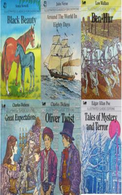 Illustrated-Classics-Book-Set-of-6-Books(Pocket-Books)