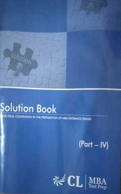 Buy Solution book iv ( CL MBA Test Prep) by Phi lab online in india - Bookchor   9781310394651