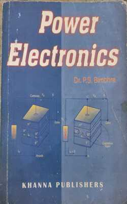 Buy Power electronics by PS Bimbhra online in india - Bookchor   9781310394766