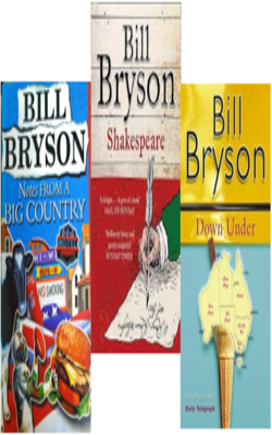 Buy Bill Bryson Book Set of 3 Books by Bill Bryson online in india - Bookchor   9781310394808
