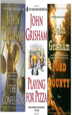 Buy John Grisham Book Set of 3 Books by John Grisham online in india - Bookchor   9781310394841
