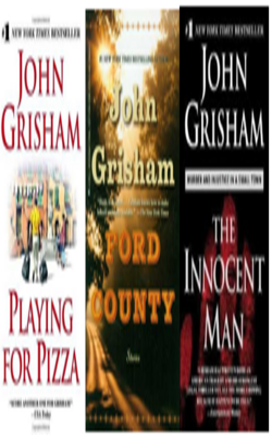 Buy John Grisham Book Set of 3 Books by John Grisham online in india - Bookchor   9781310394842