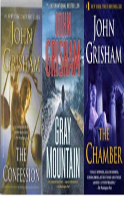 Buy John Grisham Book Set of 3 Books by John Grisham online in india - Bookchor   9781310394843