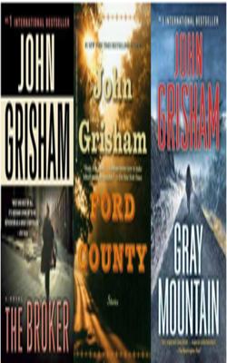 Buy John Grisham Book Set of 3 Books by John Grisham online in india - Bookchor | 9781310394844
