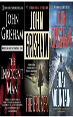 Buy John Grisham Book Set of 3 Books by John Grisham online in india - Bookchor | 9781310394845