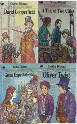 Charles-Dickens-Book-Set-of-4-Books