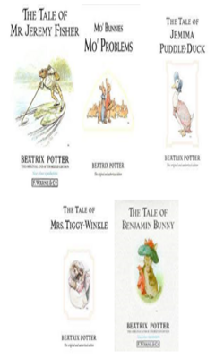 Buy Beatrix Potter Book set of 5 books by Beatrix Potter online in india - Bookchor | 9781310394849
