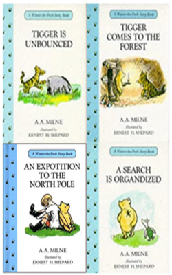 Buy A.A. Milne Book Set of 4 Books by A.A. Milne online in india - Bookchor | 9781310394853