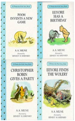 Buy A.A. Milne Book Set of 4 Books by A.A. Milne online in india - Bookchor | 9781310394854