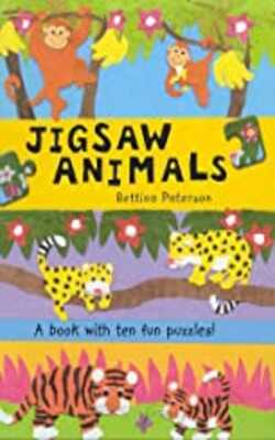 Buy Jigsaw Animals Hardcover by Bettina Paterson online in india - Bookchor | 9781405034715