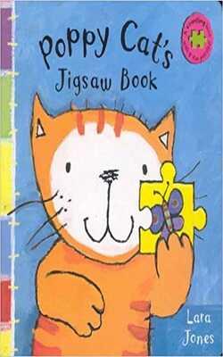 Poppy-cat`s-jigsaw-book