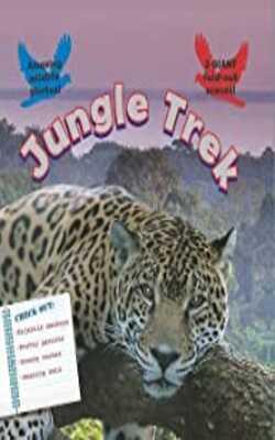 Fold-Out-Poster-Books:-Jungle-Trek-Hardcover