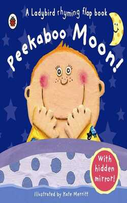 Peekaboo-moon!
