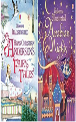 Book-set-of-2-books---Illustrated-story-collection