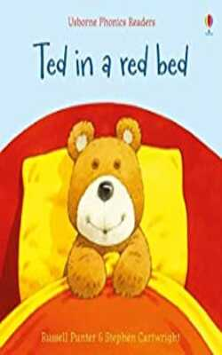 Ted-in-a-red-bed