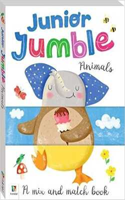 Buy Junior Jumble: Animals _Pop-up ( A mix and match book) by Hinkler Publication online in india - Bookchor | 9781488912399
