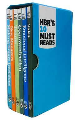 Buy HBR's 10 Must Reads Set 2 (6 Books Box-Set) by Harvard Business Review Press online in india - Bookchor | 9781633696457