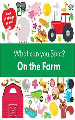 Buy What can you spot? On the farm Board book _Board Paper by Autumn Publishing online in india - Bookchor   9781785574351